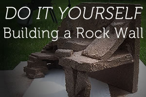 DIY: Building A Reptile Rock Wall