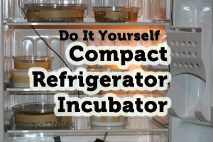 DIY: Incubator from a Compact Refrigerator