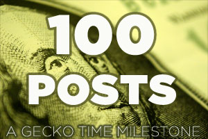 We've Reached 100 Posts!